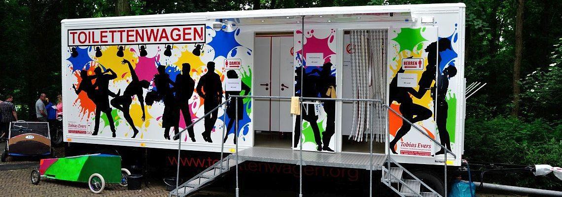 Toilettenwagen Vermietung Tobias Evers - Emmerich Kreis Kleve TW 4