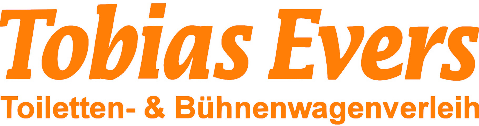 Tobias Evers Toilettenwagen verleih und Bühnenwagen vermietung