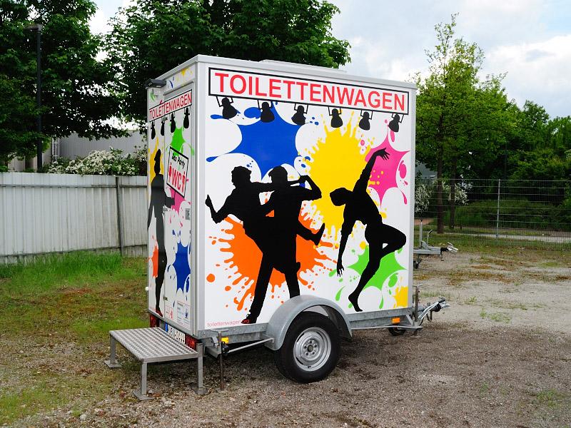 Toiletten Wagen günstig mieten Tobias Evers Kreis Kleve Kreis Borken