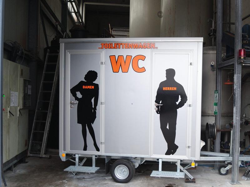 Tobias Evers - Toilettenwagen Vermietung NRW Emmerich am Rhein