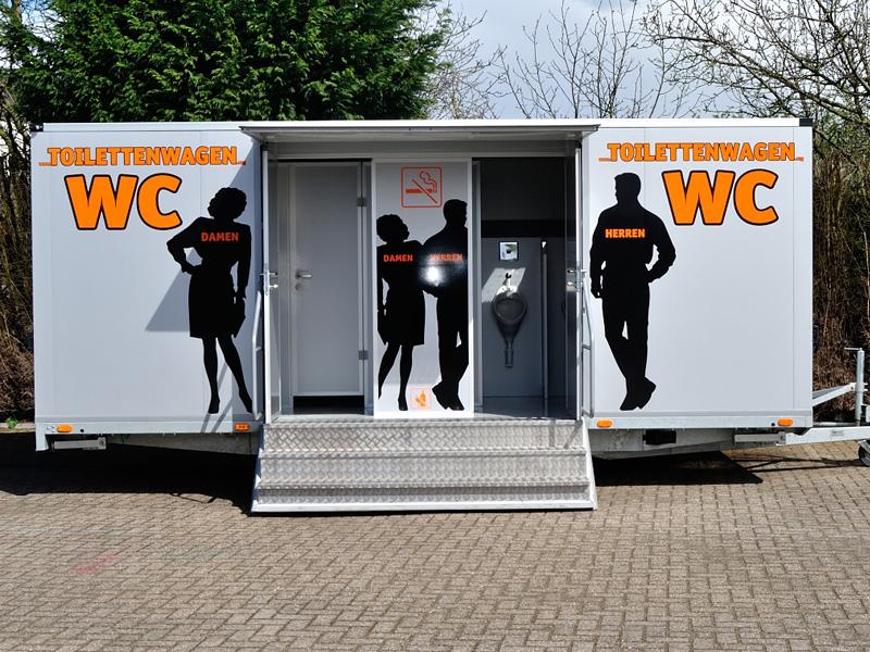 Toilettenwagen günstig mieten Tobias Evers Emmerich