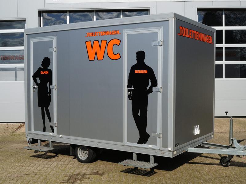 Toilettenwagen mieten Tobias Evers Kreis Kleve Wesel Borken