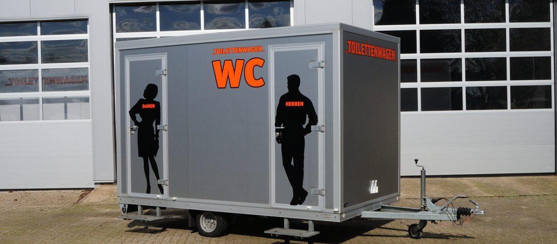 Toilettenwagen mieten bei Tobias Evers in Emmerich Kreis Kleve NRW