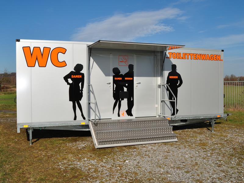 Vermietung von Toilettenwagen Tobias Evers