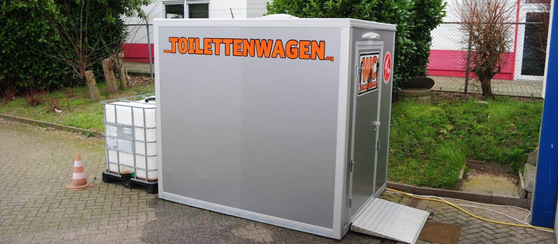 Toiletten Container Vermietung - Tolettenwagen Verleih Tobias Evers