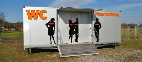 Tobias Evers Toilettenwagen Vermietung