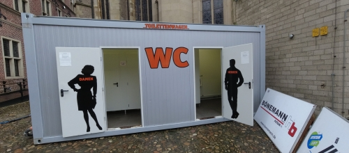 WC Container Vermietung in NRW -Tobias Evers